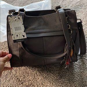 NWT The Sak Alameda leather satchel/crossbody bag